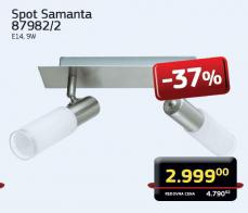 Spot lampa Samanta 87982/2