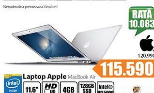 Laptop Satellite MacBook Air