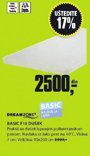 Dušek Basic F10 90x200