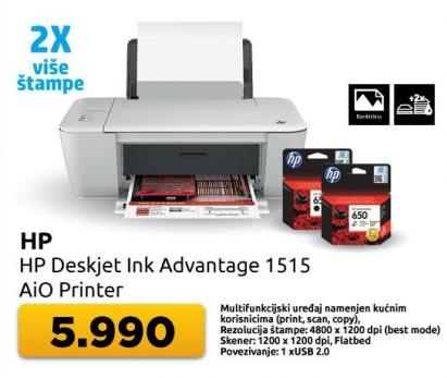Multifunkcijski uređaj DeskJet Ink Adventage 1515