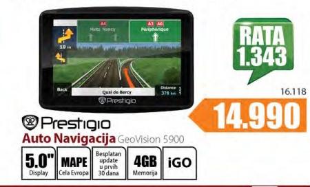 Auto navigacija GeoVision 5900