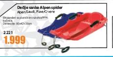 Dečije sanke Alpen spider