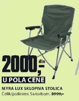 Sklopiva stolica MYRA