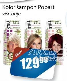 Kolor šampon Popart
