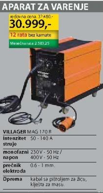 Aparat za varenje MAG 170 R