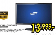 """22"""" LED LCD monitor S22C300BS"""