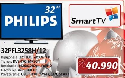 Televizor LED 32PFL3258H/12