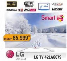 Televizor LED 42LA667S