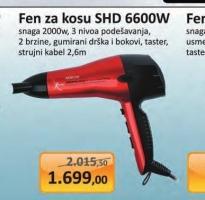Fen za kosu SHD 6600W