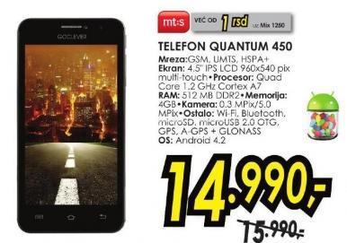 Mobilni telefon Quantum 450