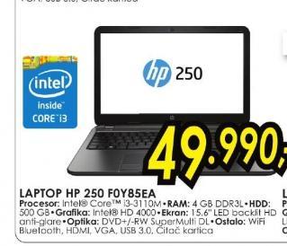 Laptop 250 G2 F0Y85EA