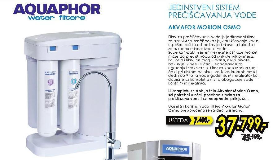 Filter za prečišćavanje vode Morion Osmo