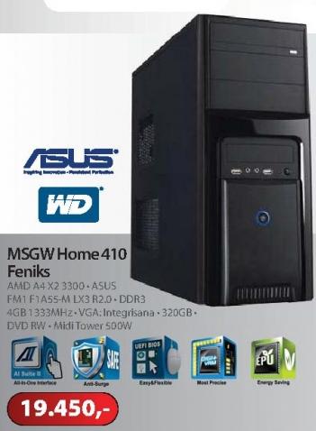 Računar HOME 410 FENIKS