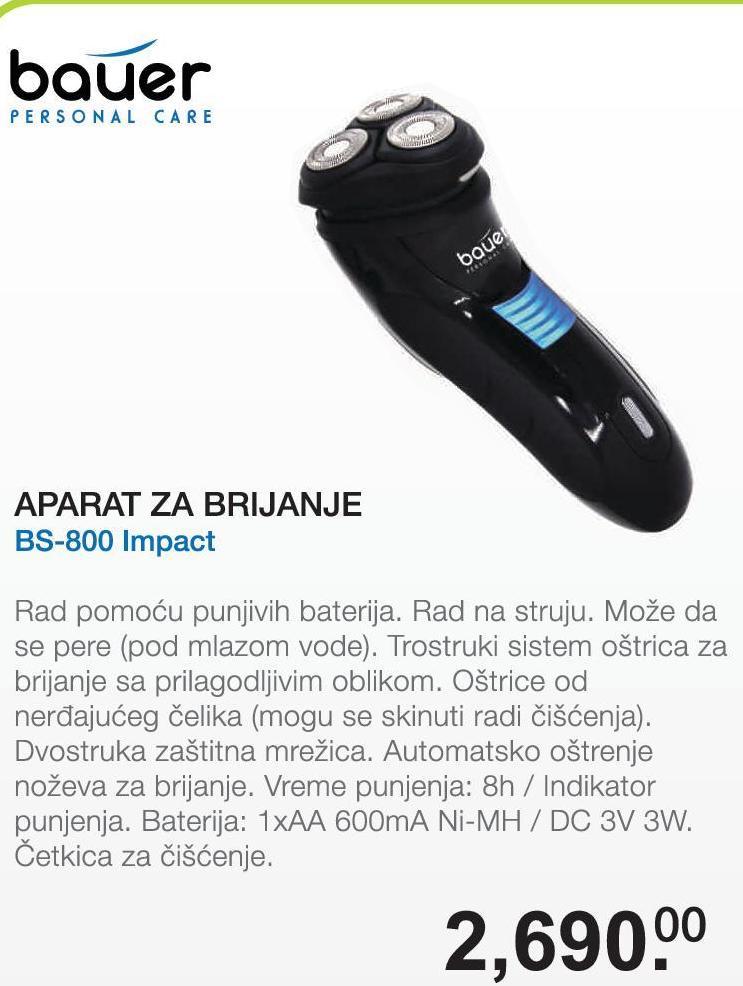 Aparat za brijanje BS-800