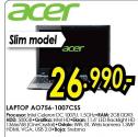 Laptop Aspire One AO756-1007Css