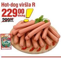 Viršle hot dog