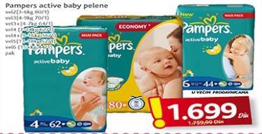 Pelene active baby