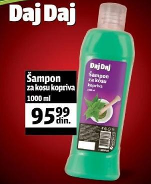 Šampon za kosu kopriva