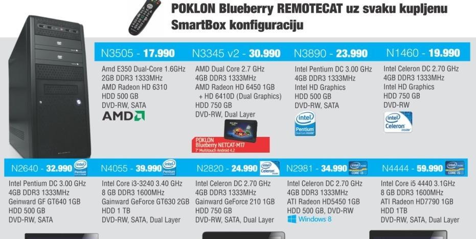 Desktop računar N2820