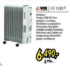 Uljani radijator LS1220 T