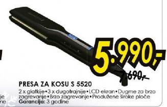 Presa za kosu S 3500 E51
