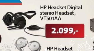 Slušalice Stereo digital