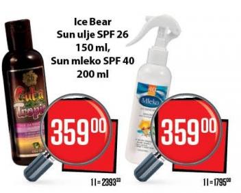 Mleko za sunčanje SPF 40
