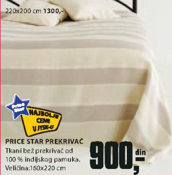 Prekrivač Price Star