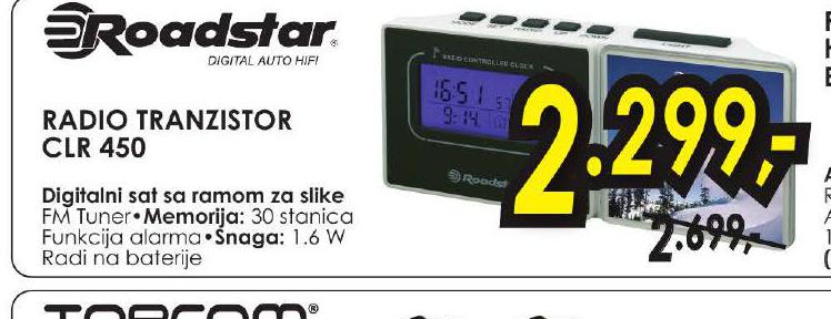 Radio Tranzistor CLR 450