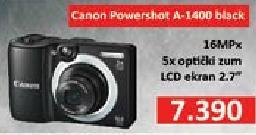Digitalni fotoaparat Powershot A1400 Black