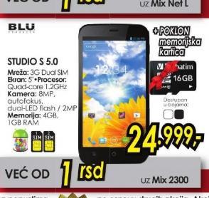 Mobilni telefon STUDIO S 5.0