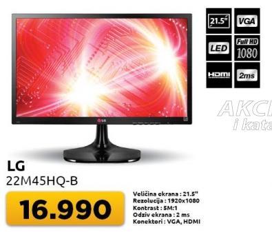 "Monitor 21,5"" 22m45hq-b"