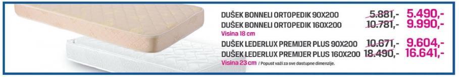 Dušek Lederlux Premijer Plus 90x200