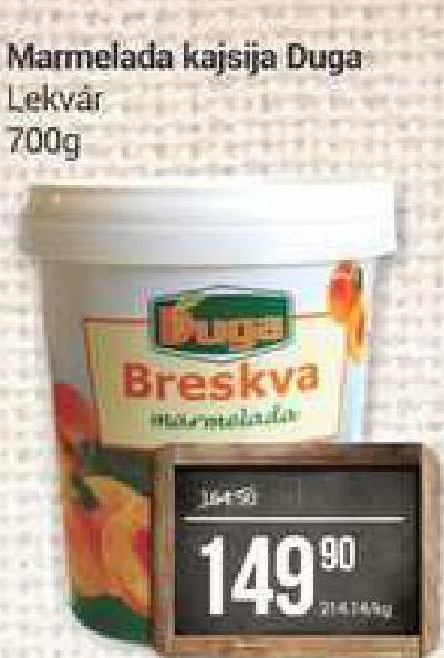 Marmelada breskva