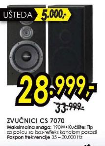 Zvučnici CS-7070
