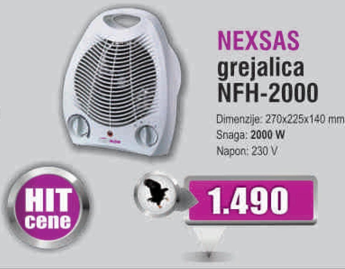 Grejalica NFH-2000