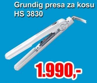 Presa za kosu HS 3830
