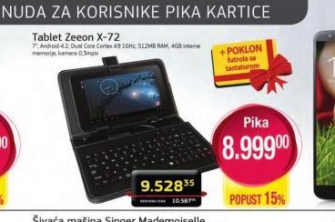 Tablet Zeoon X-72