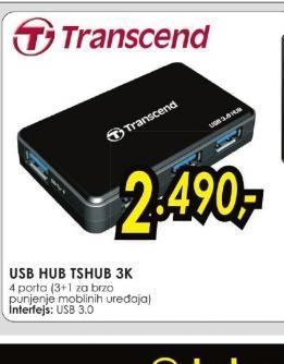 USB hub TSHUB 3K