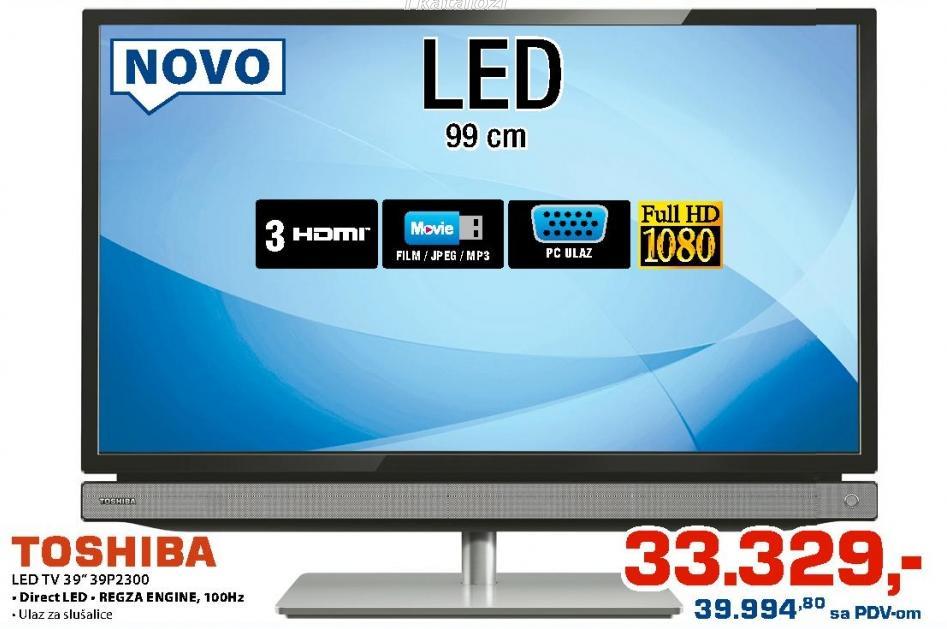 """Televizor LED 39"""" 39P2300"""