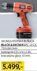 Akumulatorska bušilica Epc-12ca