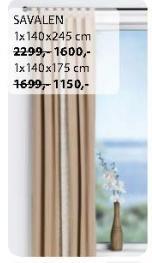Zavesa Savalen 1x140x175cm