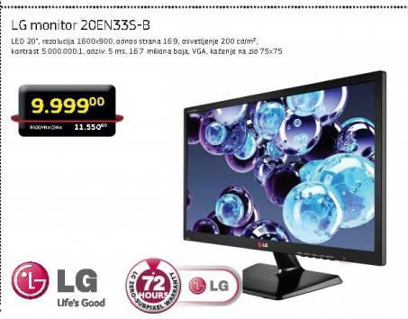 Monitor 20EN33SS-B