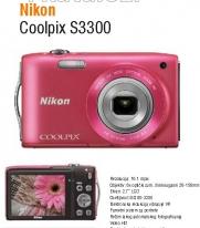 Fotoaparat Coolpix  S3300