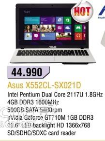 Laptop X552cl-sx021d