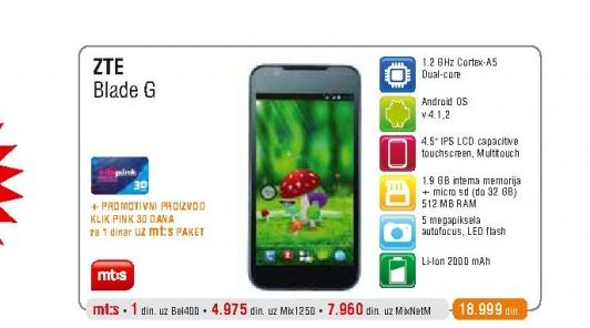 Mobilni telefon Blade G V880G
