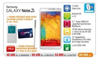 Mobilni Telefon GALAXY Note 3