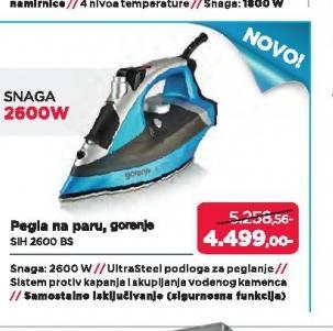 Pegla SIH2600BS
