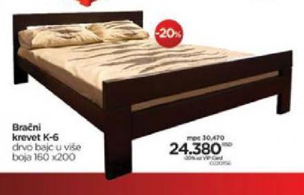 Bračni Krevet K-6