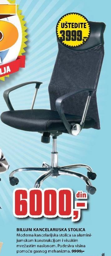 Kancelarijska stolica Billum